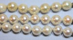 Three strands of vintage Akoya pearls, circa 1960s